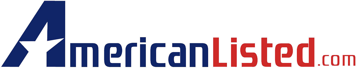 American Listed transparent png logo
