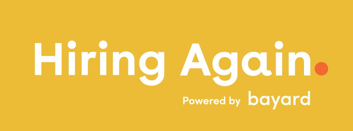 Hiring Again. transparent png logo