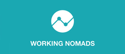 Working Nomads transparent png logo