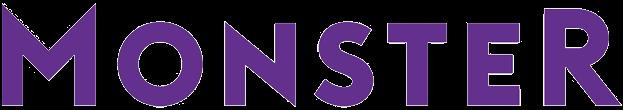 Free job boards - Monster transparent png logo