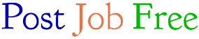 Post Job Free transparent png logo